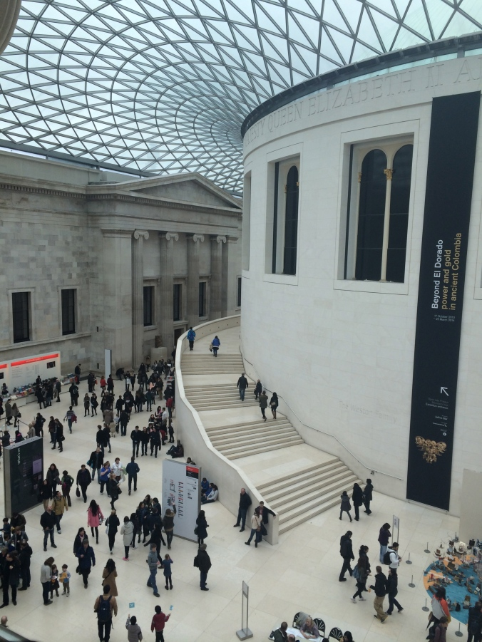 You could spend multiple days pouring through all the interesting artifacts in the British Museum.