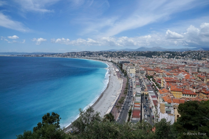 Photo Friday: Coastline in Nice, France