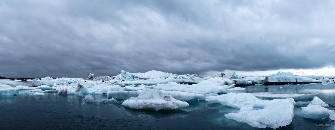 Glaciers at Jökulsárlón Iceland