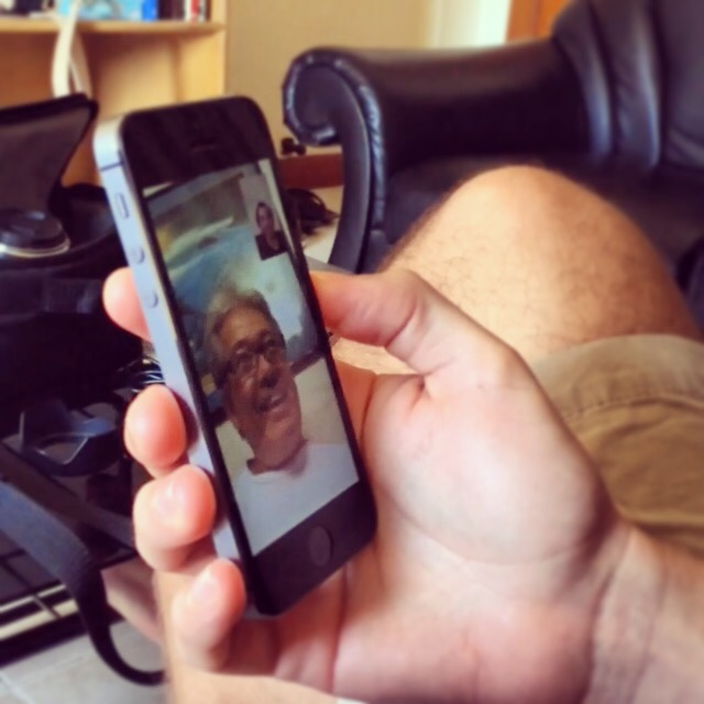 From Thailand to Hawaii, FaceTime brings families together on the holidays.