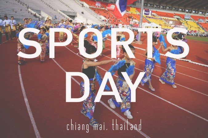 Sports Day Chiang Mai, Thailand