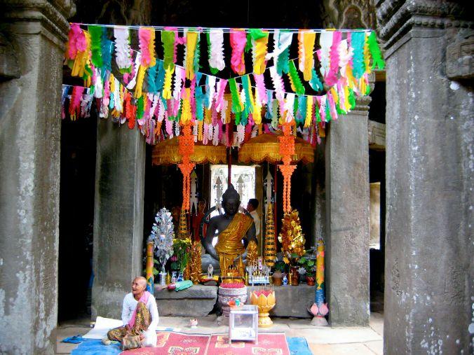 inside angkor wat cambodia