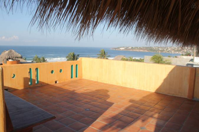Our-rooftop-in-Puerto Escondido-Oaxaca-Mexico